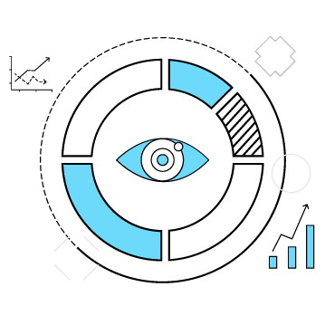 Custom-Analytics-Insights-circle-eye-clipart
