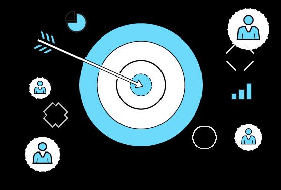 incremental-sales-marketing-channels-arrow-bullseye-clipart